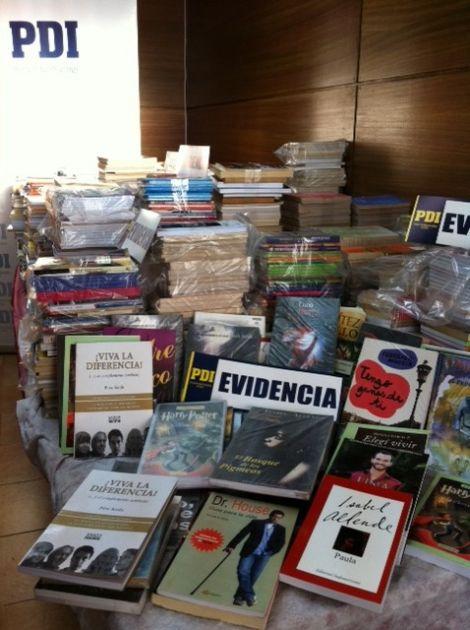 Libros incautados   Pedro Cid (RBB)