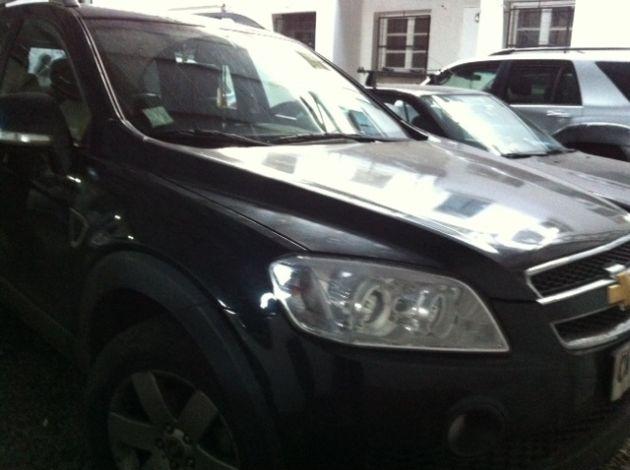 Auto incautado   Pedro Cid (RBB)