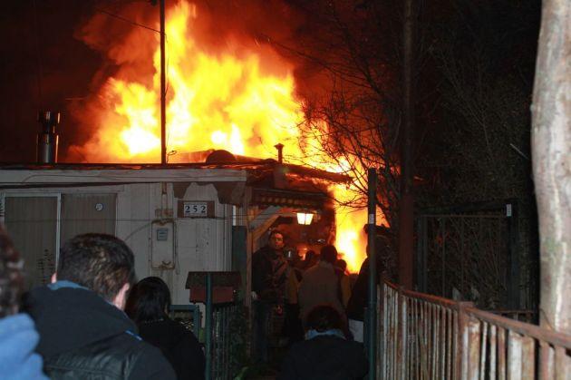 Incendio en Pedro de Valdivia | Héctor Torres G