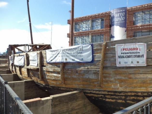 barco santiaguillo sigue botado | miguel aguilera