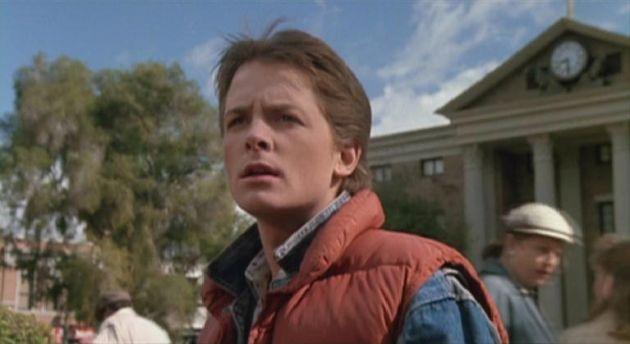 J. Fox como Marty McFly