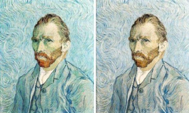 Obra original (Izquierda) y Obra alterada (Derecha)