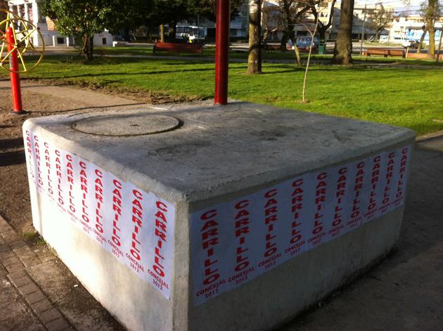 ¿Porqué manchan nuestra Plaza? | Fabián Contreras O.