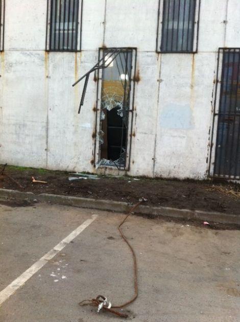 Lugar por el que accedieron | Pedro Cid (RBB)