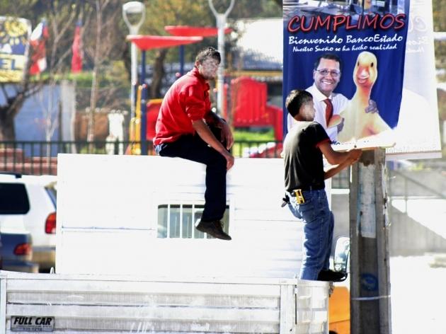 BancoEstado en campaña electoral | Victor Orellana Vidal