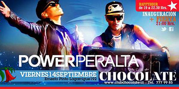 Power Peralta, Club Chocolate (c)