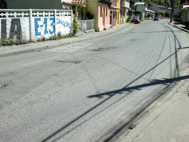 Calle en mal estado | Emiliano Vera A.