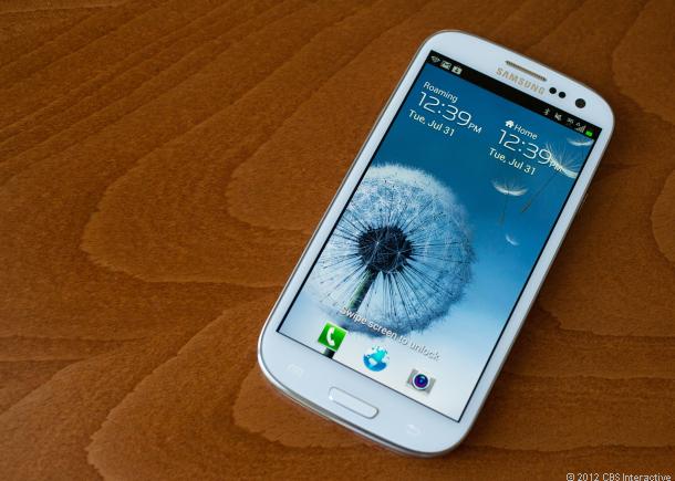 Samsung Galaxy S III   CNet News