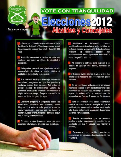 Carabineros de Chile en Facebook