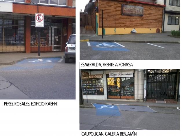Estacionamiento para discapacitados en Valdivia   Carlos Patricio