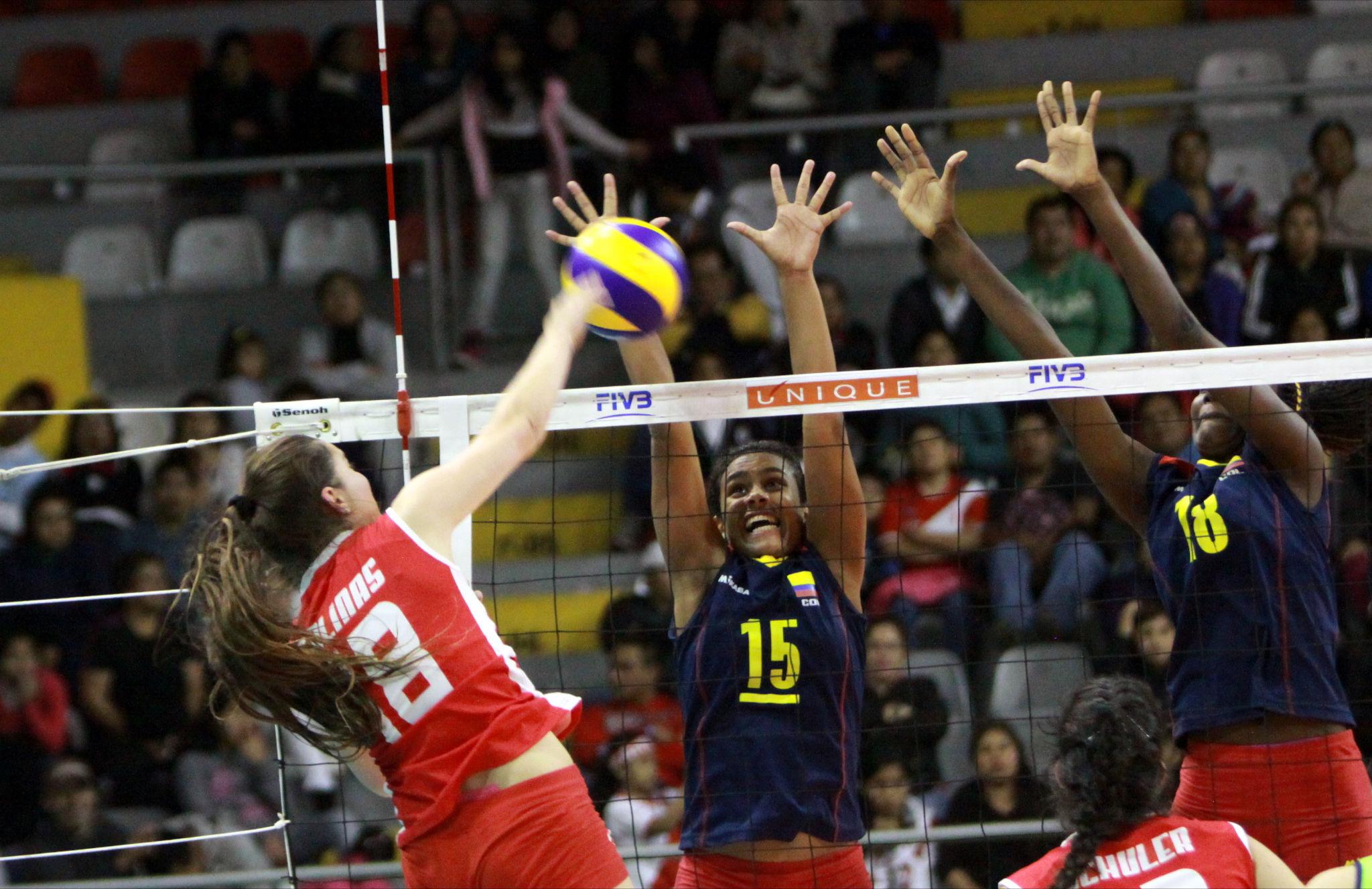 7b03f48acf991 Chile cayó ante Colombia y buscará el cupo al Mundial Juvenil de Vóleibol  Femenino en Panamericano