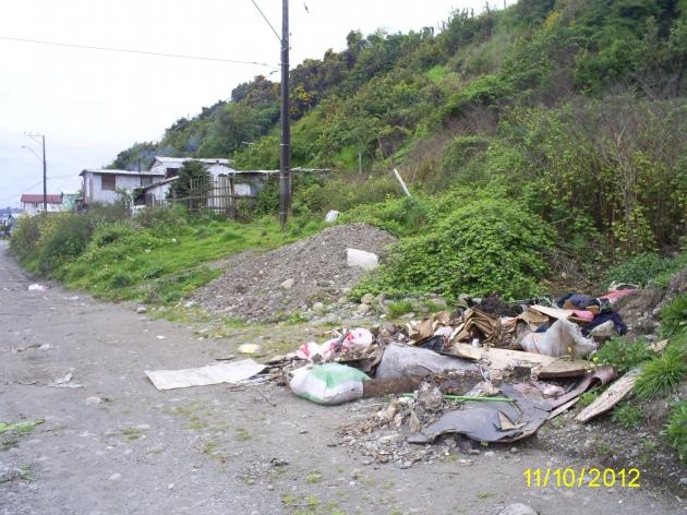 Basural en Calle Avda. Juan Soler Manfredini   Debora Vargas