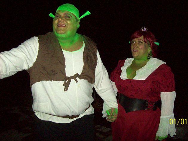 Shrek y Fiona   People.com