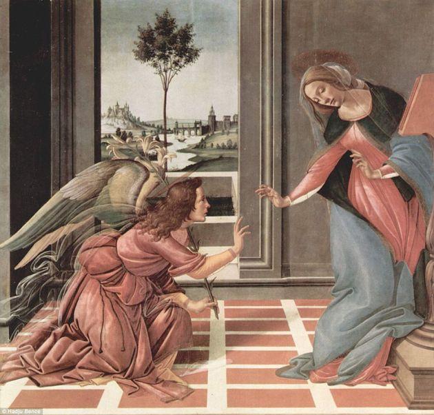 La Anunciación | Sandro Botticelli