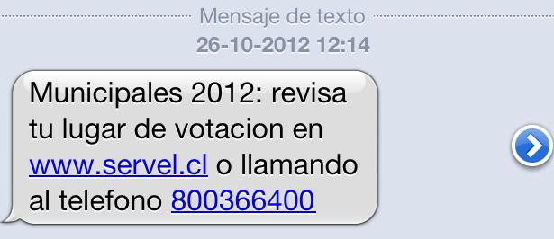 SMS Servel | Solange Garrido (BBCL)