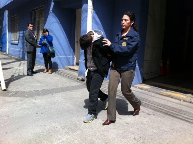 Uno de los detenidos | Pedro Cid (RBB)