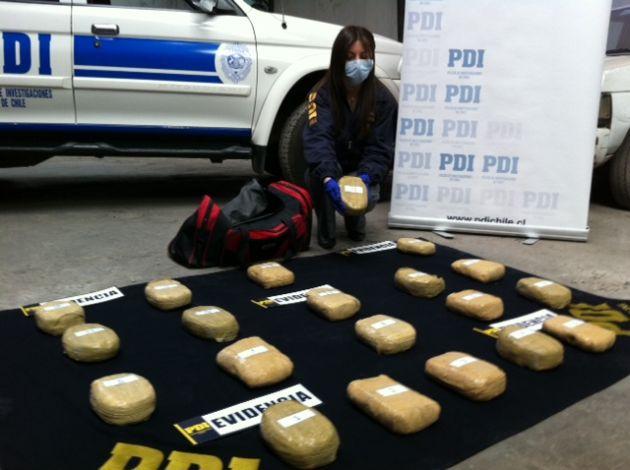 Droga decomisada | Pedro Cid (RBB)