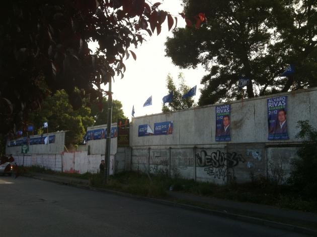 Propaganda electoral aún no es removida | Rodrigo Briceño