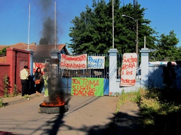 Movimiento ciudadano se tomo dependencias de la CORMUN de San Fernando | Luis Ruz