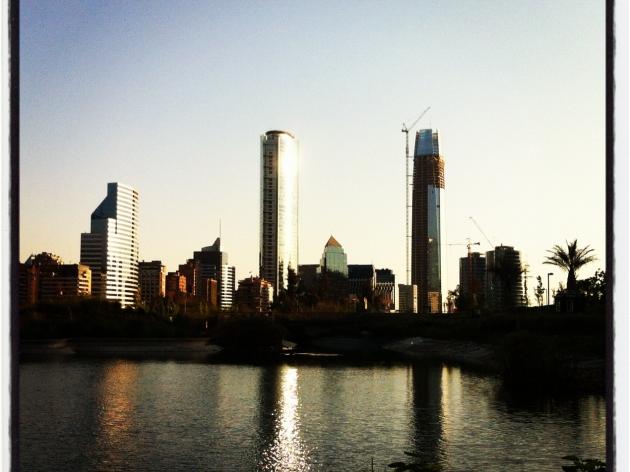 Santiago desde el parque Bicentenario | Diego Galdames