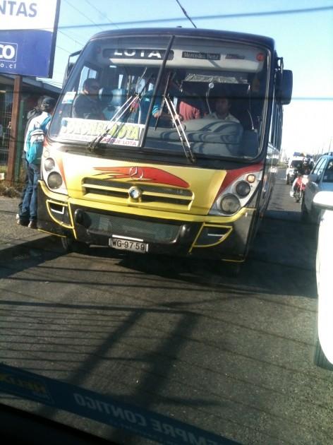 Buses Coronel-Lota | Diego Rozas