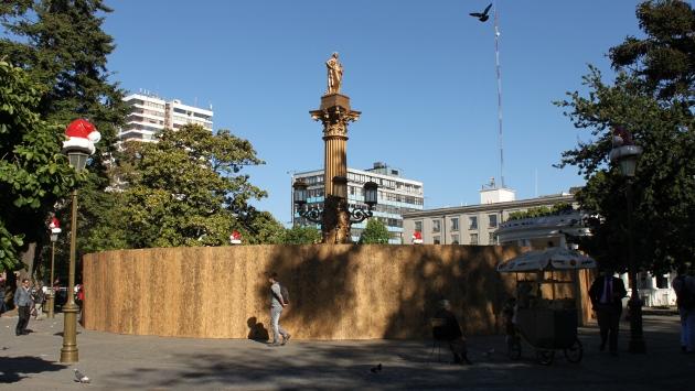 Plaza con nuevos vendajes | Erasmo Tauran (BBCL)