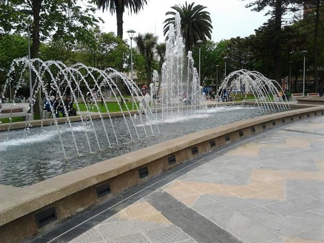 Plaza de Talcahuano | Alicia González
