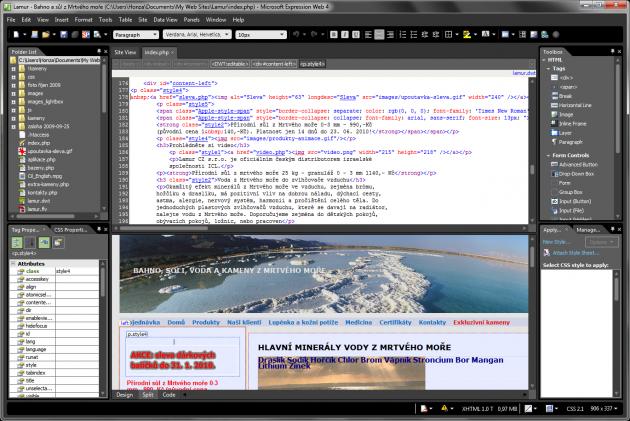 Microsoft Expression Web 4