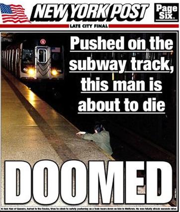 Polémica portada   New York Post