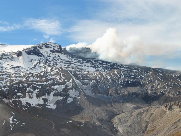 Estado actual de erupción del volcán Copahue | Anthony Neira Troncoso