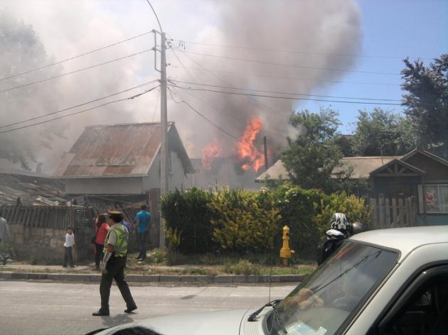 Incendio en Penco | Ricardo Jara