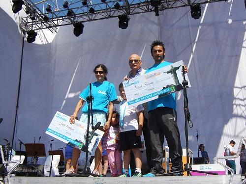 Premiación de Juan Alvarado