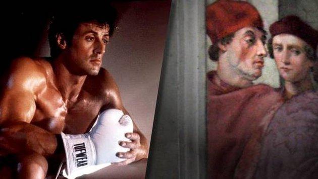 Stallone y la pintura | Vista en TVN