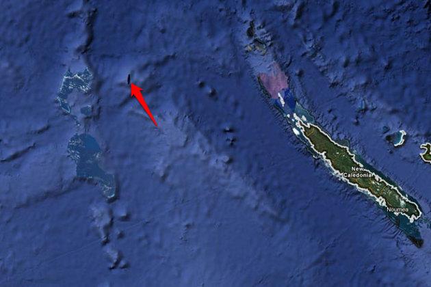 La supuesta isla | Google Maps