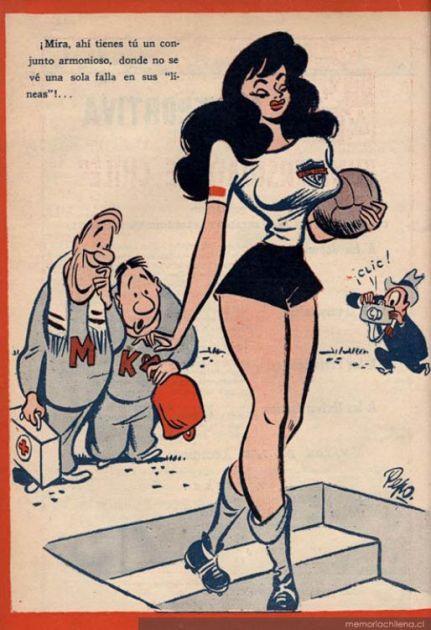 Pichanga nº 1, 1948 | Memoria Chilena
