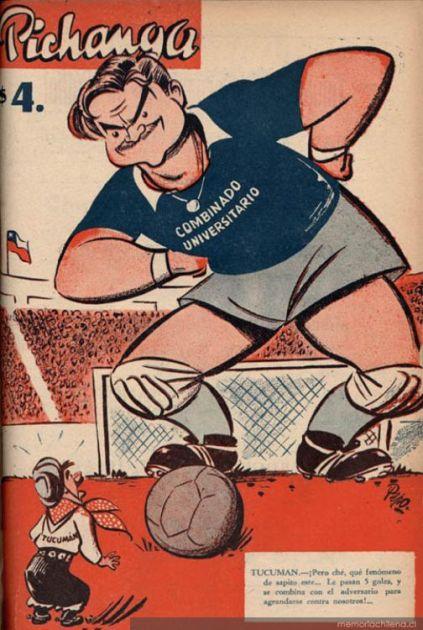 Pichanga nº 18, 1948 | Memoria Chilena