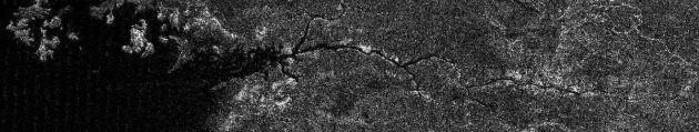 Río sobre Titán | NASA/ESA