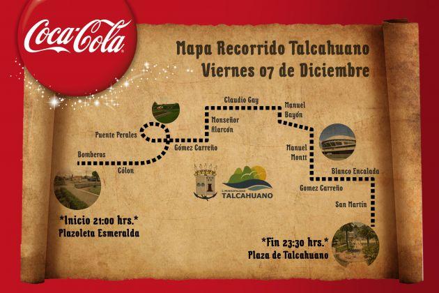 Caravana Coca Cola Talcahuano