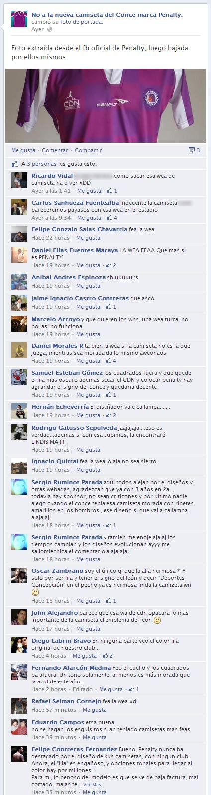 Comentarios | Facebook