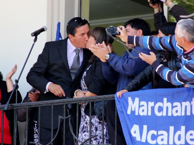 Asume alcalde de Lota | Felipe Toledo