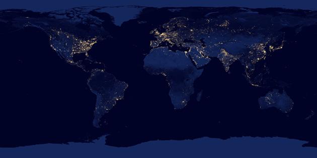 Mundo de Noche | NASA