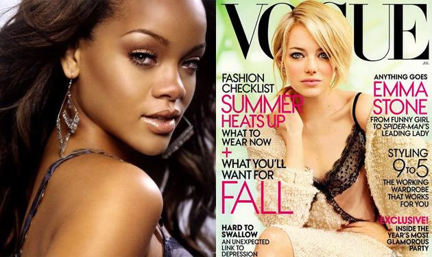 Rihanna | Emma Stone