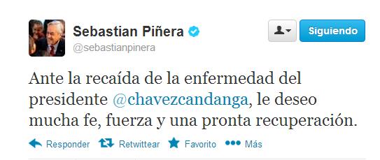 Sebastian Piñera | @sebastianpinera