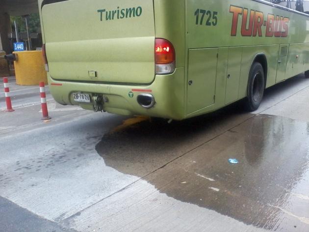 Irresponsabilidad de auxiliar de Tur Bus   Mario Abarzúa