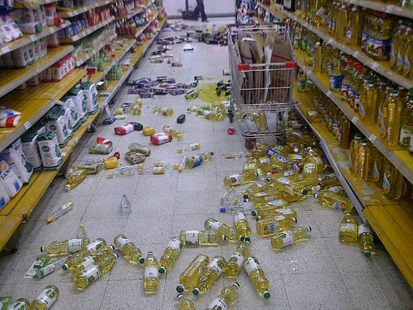 Supermercado Unimarc en Vallenar | @JOHAINES1 vía Twitter