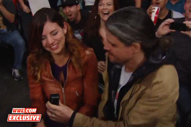 Adam Jones y su novia| WWE