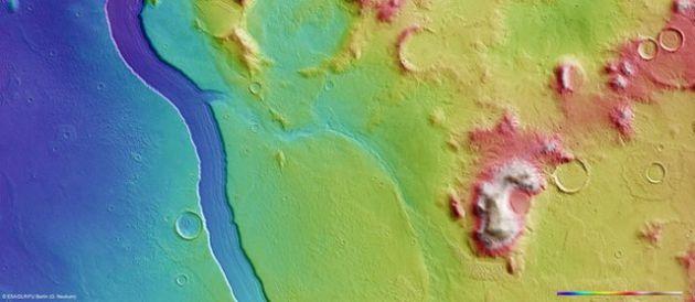 Vista topográfica | ESA