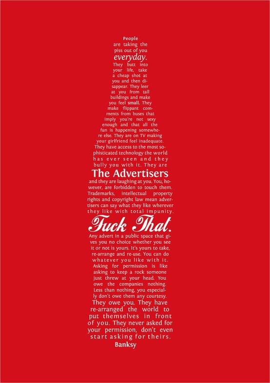 Carta de Banksy | Imgur