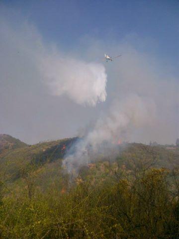 Incendio en Reñaca (@mbmradio)