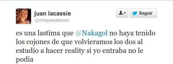 Juan Lacassie | @chispasatanas